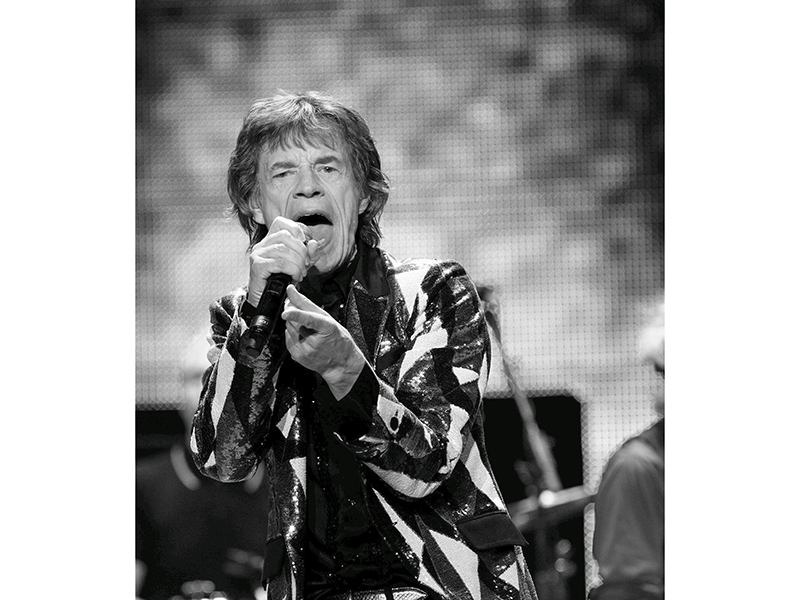 "Jagger of British band The Rolling Stones performs during the opening night of their ""50 & Counting"" worldwide tour at Staples Center in Los Angeles, California"