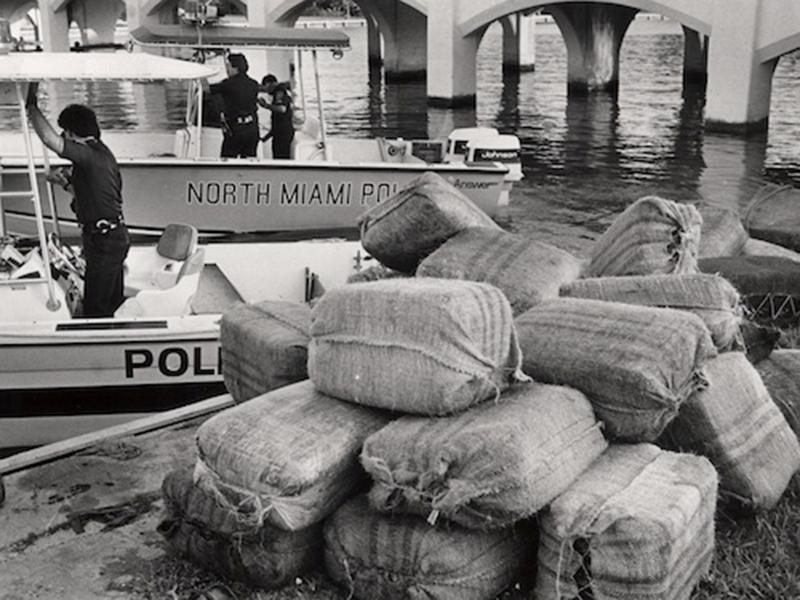 Marijuana confiscation, 1987