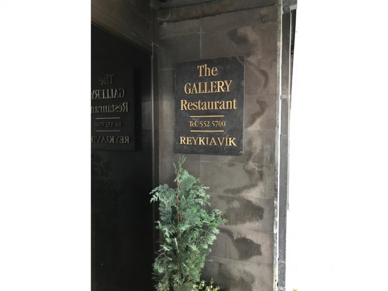 sign by door