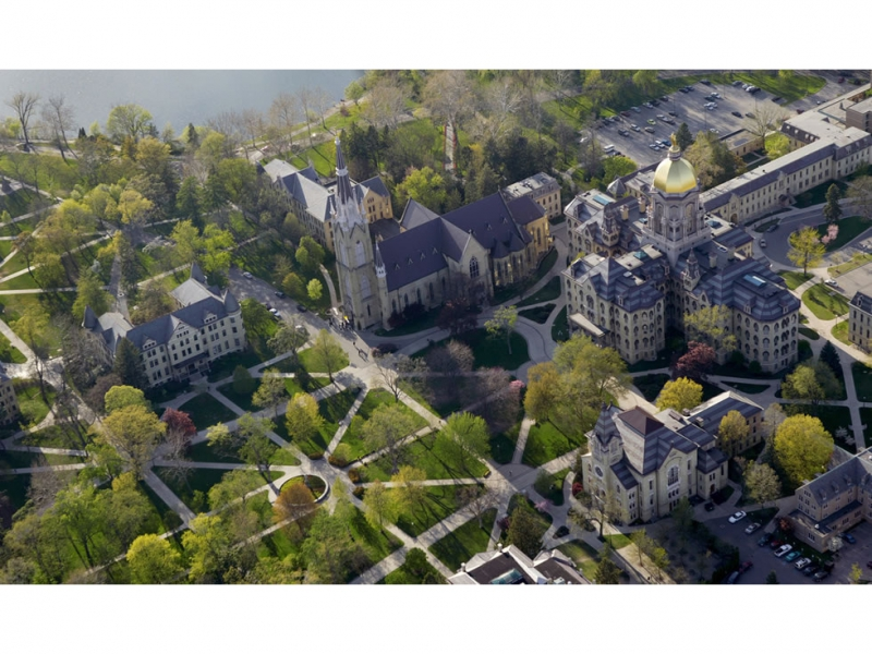 Aerial of Main Quad