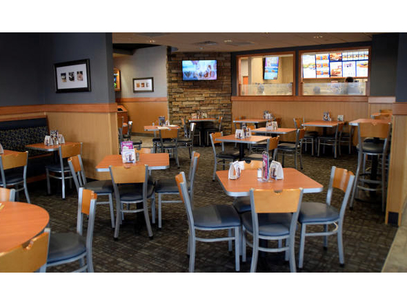 The dining room of the Woodbury Culver's offers lots of differen